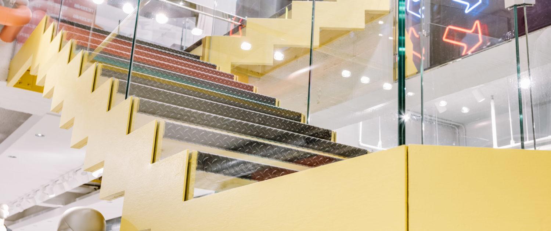 Staircases shopfitting