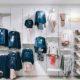 Espositori a parete per negozio abbigliamento