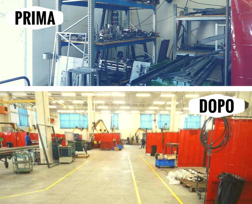 Organizzazione Azienda Penta Systems arredi per negozi