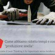 Lean Thinking applicato alla produzione di arredi per negozi